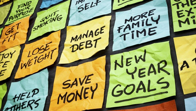 Five national experts offer New Year's resolution ideas for retirees.