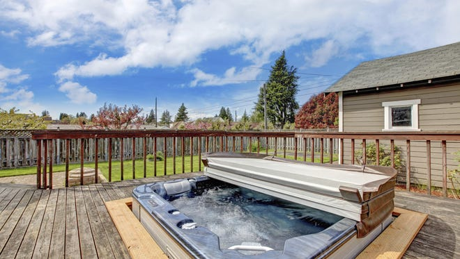 Hot tubs that are not disinfected properly can become contaminated with Legionella, the bacteria that causes Legionnaire's Disease.