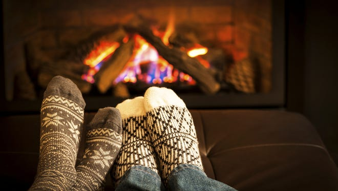 With above average and even record-breaking temperatures, people have been warming up by the fireplace so far this winter.