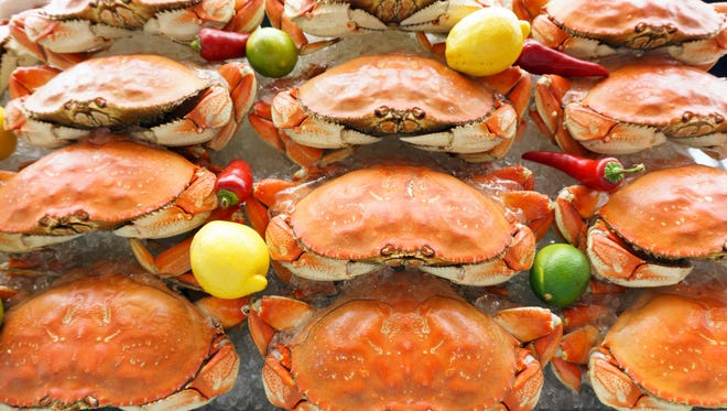 King Estate in Eugene is holding several weekends of Crab Fest in January and February.
