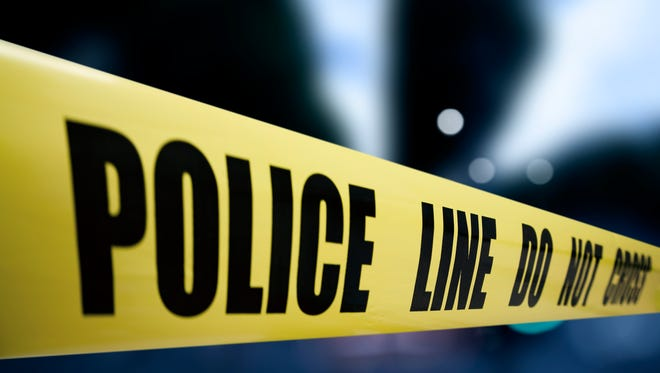 State police investigate AutoZone robbery Thursday.