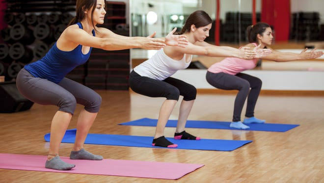 Multi-joint exercises, like a squat, work a multitude of muscles at the same time, making your workout more efficient.