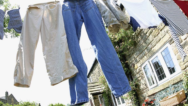 The soft smell of laundry drying on a line is mostly a thing of the past.