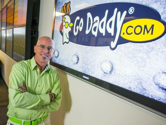 Blake Irving, CEO of GoDaddy