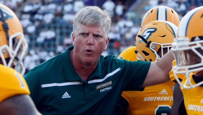 Ron Roberts resigned as Southeastern Louisiana's head coach on Friday to become UL's new defensive coordinator.