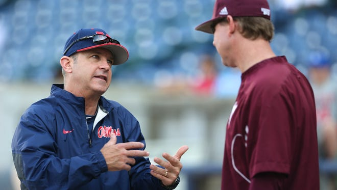 Ole Miss coach Mike Bianco and Mississippi State coach John Cohen led their respective teams to hosting regionals this weekend.