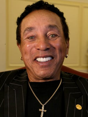 Smokey Robinson will perform July 8.