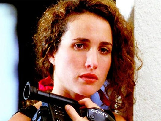 Andie MacDowell making a name for herself as an actress