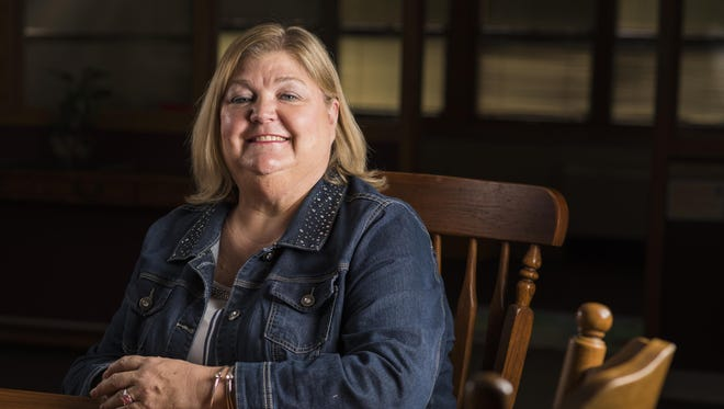 Cheryl Tiedt of Kaukauna has volunteered with Harbor House for more than a decade.