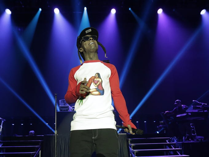 Lil Wayne performs Thursday night at the El Paso Country