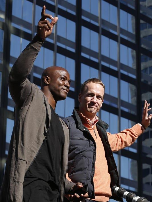 Peyton Manning, DeMarcus Ware