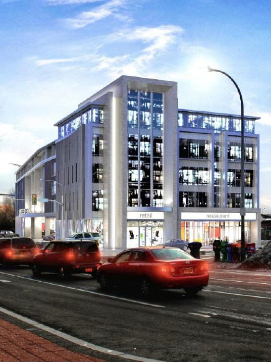 Morgan Management Court Street project