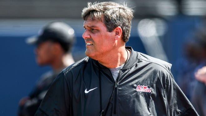 Matt Luke will lead Ole Miss through three more spring practices this week.