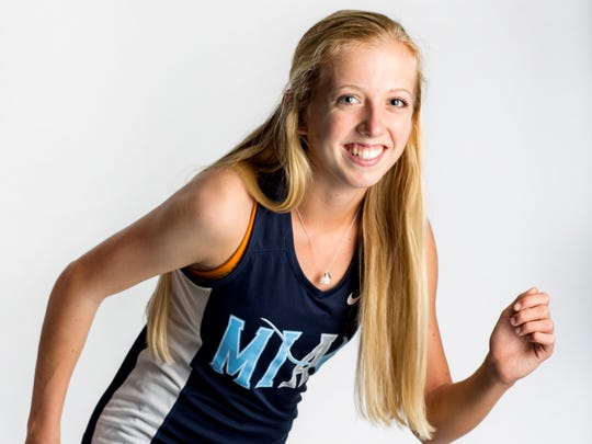 2016 Fall Player of the Year finalist Olivia Watt, Marco Island Academy cross country