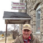 It will take six hours for movers to move Timmons Temple 600 feet to its new location.