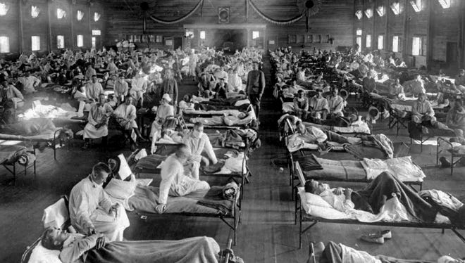 Flu pandemic of 1918: More than 2,000 Arizonans died during the influenza pandemic of 1918, which claimed an estimated 30 million to 50 million lives across the globe.