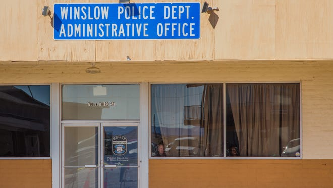 The Winslow Police Department is looking to hire a new police chief.
