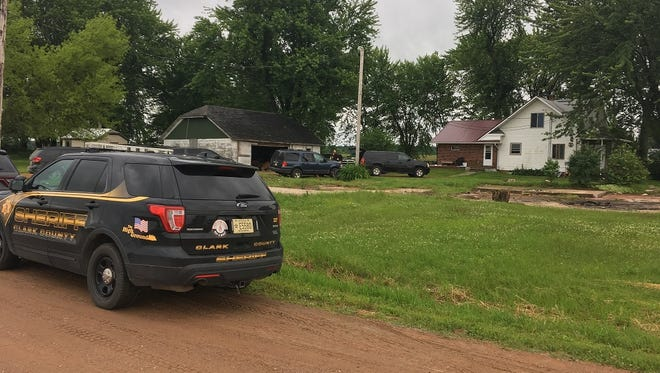 Police report finding a methamphetamine lab in the basement of a Clark County home Wednesday morning.