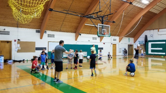 The Great Falls Church of the Nazarene, with help from Lithia Jeep/Dodge, held a youth basketball camp this week.