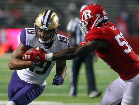 NCAA Football: Washington at Rutgers