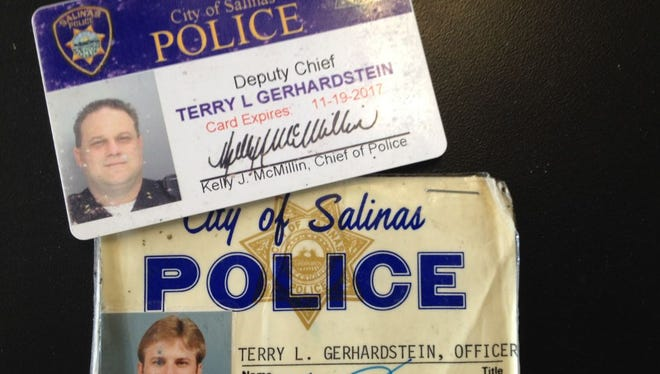 Salinas Police Deputy Chief Terry Gerhardstein is retiring from the department after working there since 1985.