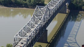 Brent Spence Bridge, looking south into Northern Kentucky, is obsolete. Northern Kentucky lawmakers see its replacement as a top goal.