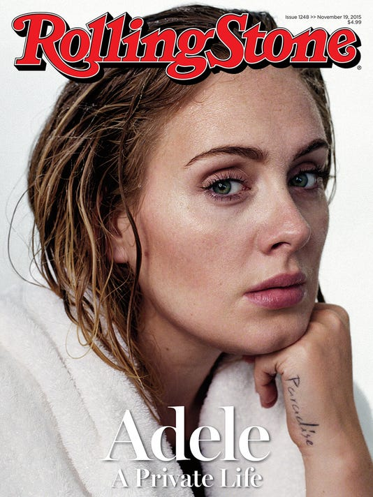 Adele on Rolling Stone