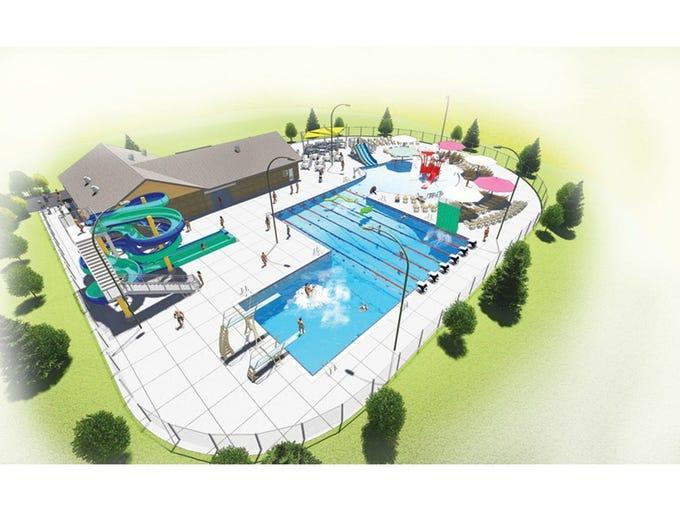 The new Merrill Aquatic Center will open June 2016