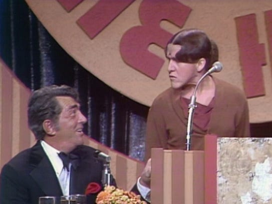 Ruth Buzzi and Dean Martin during the Jimmy Stewart