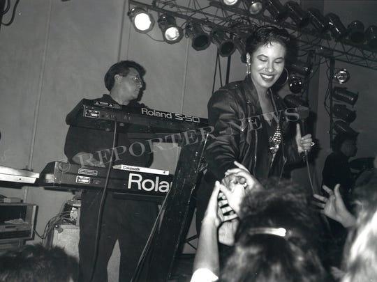 Selena y los Dinos perform in Abilene in this undated photo.