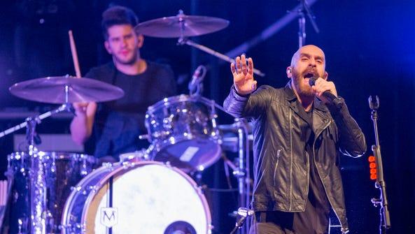 The X Ambassadors with Sam Harris, vocals, and Adam