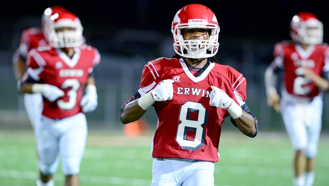 Erwin senior C.J. Thompson has committed to play college football for Mars Hill.