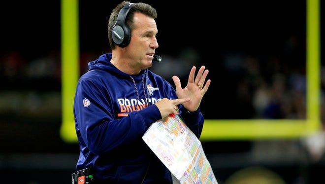 Denver Broncos coach Gary Kubiak is putting unnecessary pressure on himself and his team, columnist Mark Knudson writes.