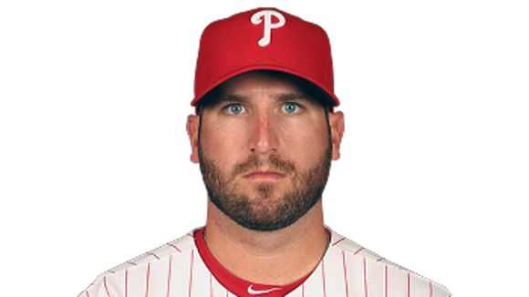 Brad Lincoln had an 11.57 ERA in two appearances this season with the Phillies.