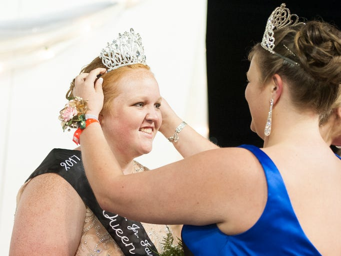 2017 Ross County Fair King and Queen moments.