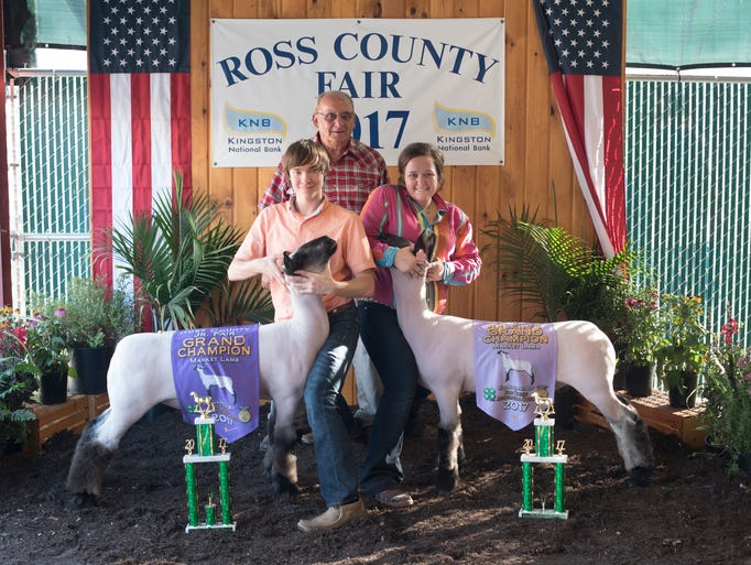 Highlights of the 2017 Ross County Fair Jr. Fair Market