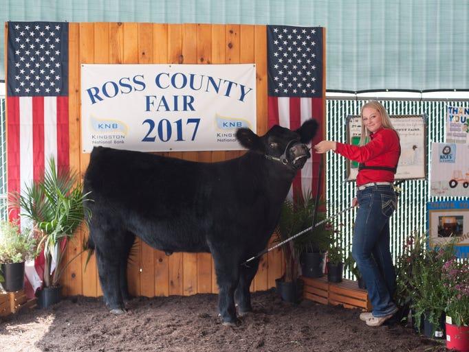 Highlights of the 2017 Ross County Fair Jr. Fair Beef