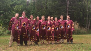 The Daoist Traditions College of Chinese Medical Arts GraduatingClass of 2016. The school is located at 130 Sardis Road in Asheville.