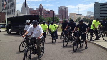 Military veterans to patrol Detroit on bicycles