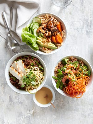 Phoenix-based restaurateur Sam Fox has partnered with Williams Sonoma to develop a line of vinaigrettes and bowl starters based on the flavors of Flower Child, his healthy fast-casual brand.