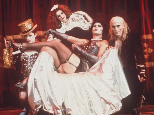 """""""The Rocky Horror Picture Show"""" is turning up on screens all over southeast Michigan this weekend."""