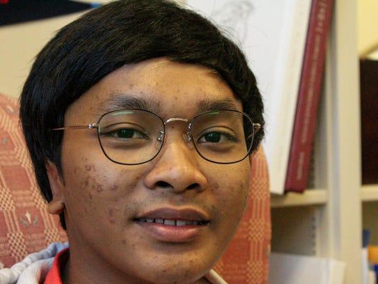 Rizky Dewangga is a senior at Global Vision Christian