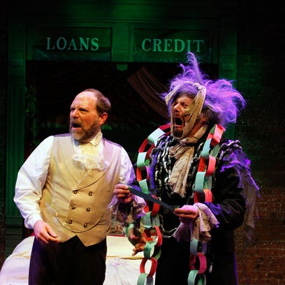 Which play to see? Reviews of 'Twist Your Dickens' and 'A Christmas Story: The Musical'