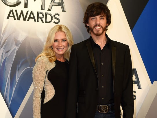 Chris Janson and wife Kelly Janson. (Photo: George Walker IV / The ...