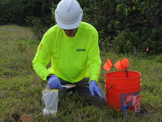 Guam and the U.S. military conducted fieldwork to collect soil samples for Agent Orange analysis in April, more than a year after Gov. Eddie Calvo instructed the testing.