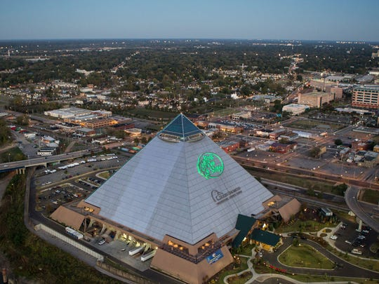 Bass Pro Shops at the Pyramid in Memphis on Nov. 9, 2016.
