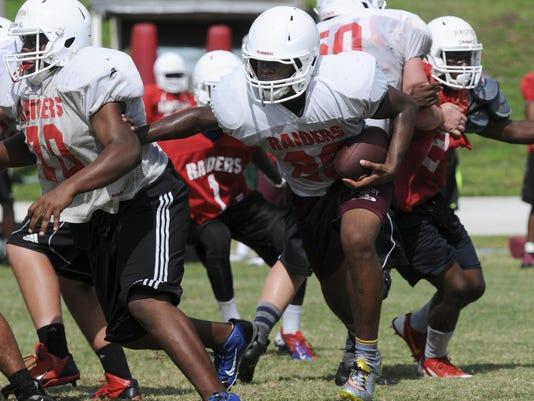 Rockledge Football Practice