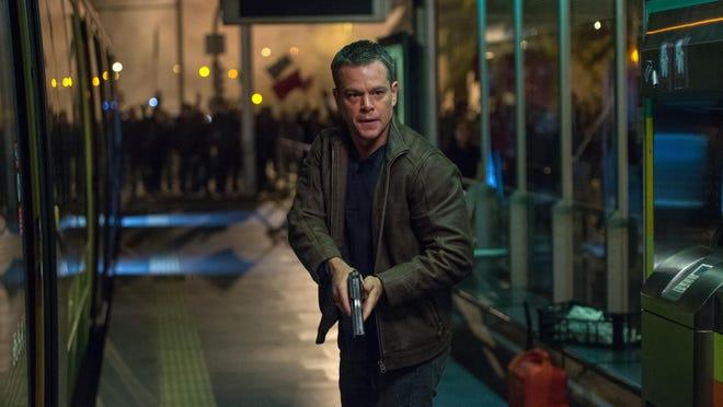 """Matt Damon returns as the formerly amnesiac super-agent in """"Jason Bourne."""""""