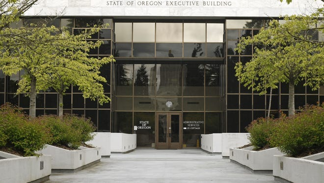 The State of Oregon Executive Building which house the Department of Administrative Services.