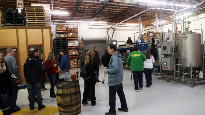 Several local breweries, including Gilgamesh, have samples and tours during the Zwickelmania Oregon Brewery Tour on Feb. 14.